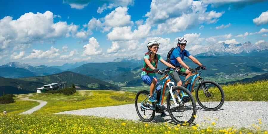 Sommerurlaub in Flachau (Biken, Wandern)