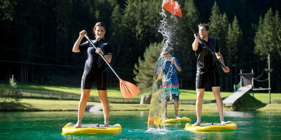 Stand-Up Paddeling in Flachau