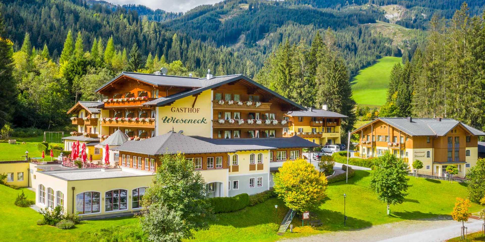 Sommerurlaub im Hotel Wieseneck in Flachau (Salzburg)